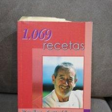 Libros antiguos: 1.069 RECETAS KARLOS ARGUIÑANO. Lote 156550617