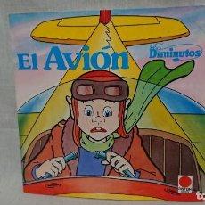 Libros antiguos: LOS DIMINUTOS - CÓMIC TEBEO LOS DIMINUTOS EL AVION AÑO 1984 TIMUN MÁS . Lote 156589354