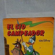 Libros antiguos: EL CID CAMPEADOR - TEBEO CÓMIC WALT DISNEY ED. EVEREST AÑO 1984. Lote 156589934