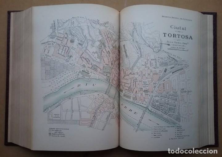 Libros antiguos: GEOGRAFIA GENERAL DE CATALUNYA PROVINCIA 4 VOL. F. CARRERAS Y CANDI PRINCIPIOS S. XX - Foto 8 - 156621922