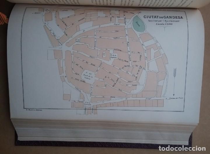 Libros antiguos: GEOGRAFIA GENERAL DE CATALUNYA PROVINCIA 4 VOL. F. CARRERAS Y CANDI PRINCIPIOS S. XX - Foto 9 - 156621922