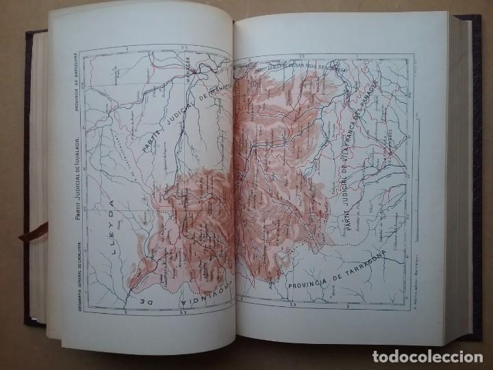 Libros antiguos: GEOGRAFIA GENERAL DE CATALUNYA PROVINCIA 4 VOL. F. CARRERAS Y CANDI PRINCIPIOS S. XX - Foto 10 - 156621922