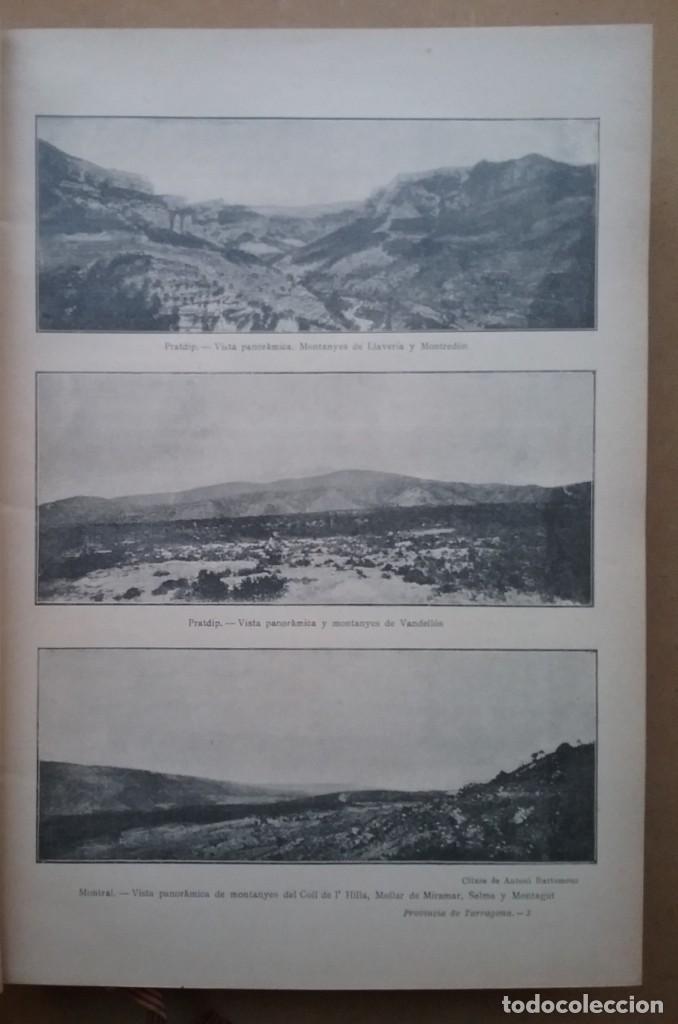 Libros antiguos: GEOGRAFIA GENERAL DE CATALUNYA PROVINCIA 4 VOL. F. CARRERAS Y CANDI PRINCIPIOS S. XX - Foto 12 - 156621922