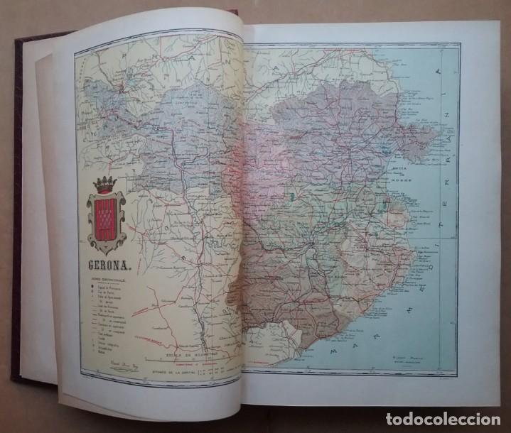 Libros antiguos: GEOGRAFIA GENERAL DE CATALUNYA PROVINCIA 4 VOL. F. CARRERAS Y CANDI PRINCIPIOS S. XX - Foto 13 - 156621922