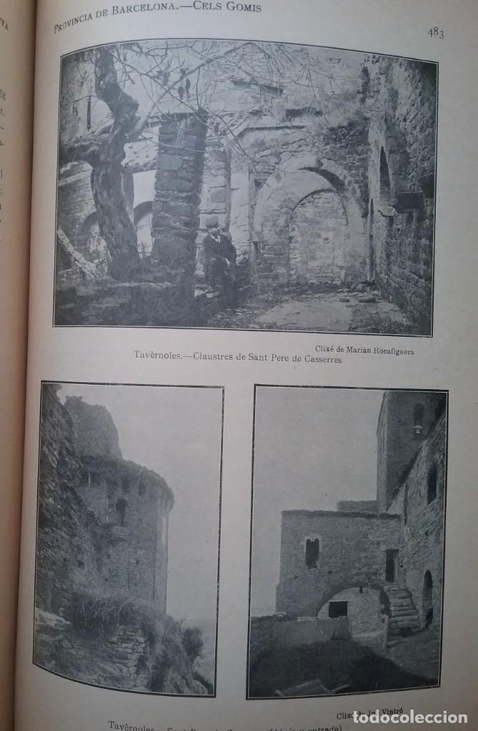 Libros antiguos: GEOGRAFIA GENERAL DE CATALUNYA PROVINCIA 4 VOL. F. CARRERAS Y CANDI PRINCIPIOS S. XX - Foto 19 - 156621922