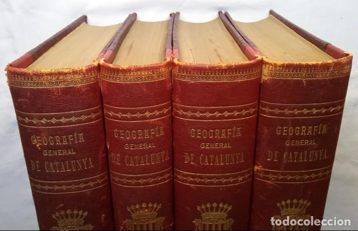 Libros antiguos: GEOGRAFIA GENERAL DE CATALUNYA PROVINCIA 4 VOL. F. CARRERAS Y CANDI PRINCIPIOS S. XX - Foto 28 - 156621922