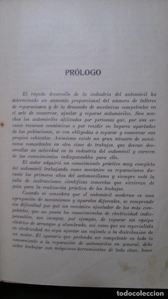 Libros antiguos: TRATADO PRÁCTICO DE REPARACIÓN DE AUTOMÓVILES-GUIA PRÁCTICA DEL AUTOMOVILISTA-VICTOR W. PAGÉ-1925 - Foto 4 - 156753710
