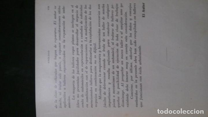 Libros antiguos: TRATADO PRÁCTICO DE REPARACIÓN DE AUTOMÓVILES-GUIA PRÁCTICA DEL AUTOMOVILISTA-VICTOR W. PAGÉ-1925 - Foto 6 - 156753710