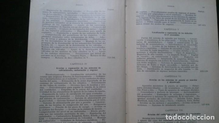 Libros antiguos: TRATADO PRÁCTICO DE REPARACIÓN DE AUTOMÓVILES-GUIA PRÁCTICA DEL AUTOMOVILISTA-VICTOR W. PAGÉ-1925 - Foto 8 - 156753710