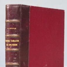 Libros antiguos: NUEVO TABLADO DEL ARLEQUIN. PIO BAROJA. CARO RAGGIO. Lote 156759702