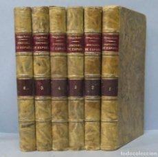 Libros antiguos: 1908.- HISTORIA DE ESPAÑA. JUAN ORTEGA RUBIO. 6 TOMOS. Lote 156760522