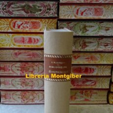 Libros antiguos: BIBLIOTHÈQUE ÉGYPTOLOGIQUE TOME TREIZIEME : OEUVRES DIVERSES . TOME CINQUIEME. AUTOR : CHABAS, F. . Lote 156792766