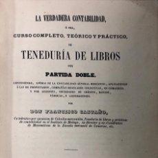 Libros antiguos: TENEDURIA DE LIRBOS. FRANCISCO CASTAÑO. MALAGA 1964. PAGS 323. Lote 156807298