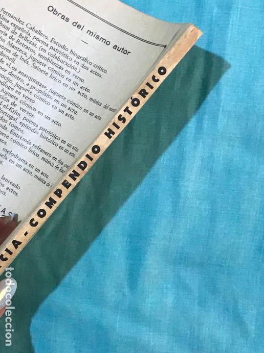 Libros antiguos: ANTIGUO LIBRO COMPENDIO HISTÓRICO DE MURCIA RAMÓN BLANCO PRÓLOGO ALBERTO SEVILLA 1936 dedicado au - Foto 5 - 156824750