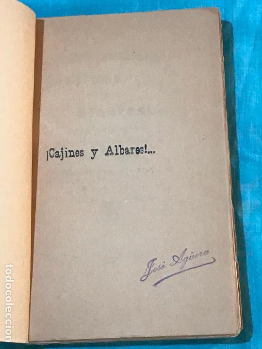 Libros antiguos: ¡Cajines y Albares!...Romances murcianos, soflamas y bandos - Frutos Baeza, José - Foto 2 - 156829934