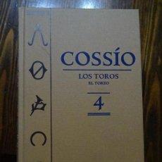 Libros antiguos: COSSIO-LOS TOROS -EL TORERO 4.. Lote 156892134