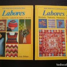 Libros antiguos: GUIA PRÁCTICA DE LABORES (DOS TOMOS) -IMPECABLE ESTADO. Lote 156902658