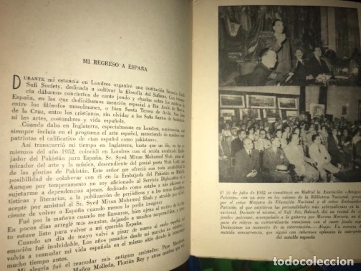 Libros antiguos: ANTIGUO LIBRO CANTE JONDO SU ORIGEN Y EVOLUCIÓN AZIZ BALOUCH - Foto 4 - 156917862
