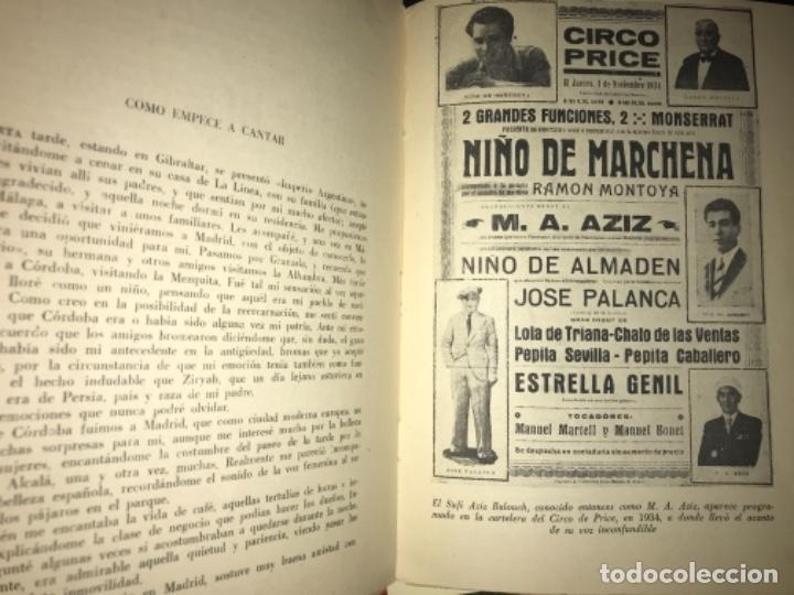 Libros antiguos: ANTIGUO LIBRO CANTE JONDO SU ORIGEN Y EVOLUCIÓN AZIZ BALOUCH - Foto 7 - 156917862