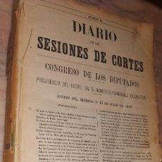 Libros antiguos: DIARIO DE LAS SESIONES DE CORTES CONGRESO DE LOS DIPUTADOS 1903. Lote 156921296