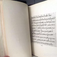 Libros antiguos: MILLARES CARLOS : TRATADO DE PALEOGRAFÍA ESPAÑOLA, LÁMINAS (1932) CXXXI LÁMINAS. Lote 156923370
