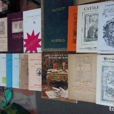 Libros antiguos: LOTE DE CATALOGOS DE LIBRO ANTIGUO Y DE COLECCION. 30. Lote 156944746