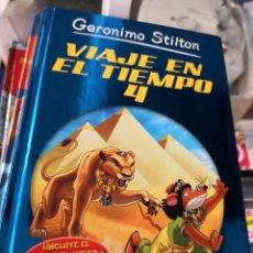Libros antiguos: GERONIMO STILTON VIAJE EN EL TIEMPO 4 DESTINO EDITORIAL. Lote 156977850