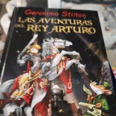 Libros antiguos: LAS AVENTURAS DEL REY ARTURO - GERONIMO STILTON - DESTINO. Lote 156978194
