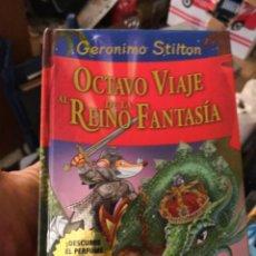 Libros antiguos: GERONIMO STILTON. OCTAVO VIAJE AL REINO DE LA FANTASIA . Lote 156978782