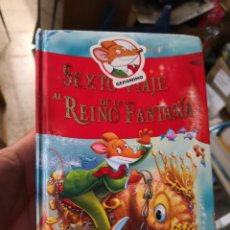 Libros antiguos: SEXTO VIAJE AL REINO DE LA FANTASIA. GERONIMO STILTON . Lote 156980110