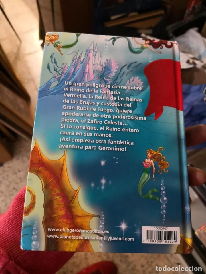 Libros antiguos: Sexto viaje al reino de la fantasia. Geronimo Stilton - Foto 2 - 171141327
