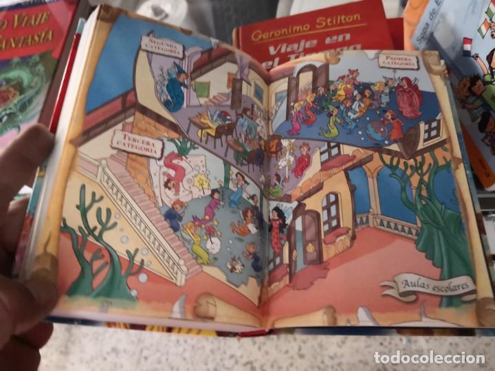 Libros antiguos: Sexto viaje al reino de la fantasia. Geronimo Stilton - Foto 6 - 171141327