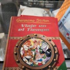 Libros antiguos: VIAJE EN EL TIEMPO. GERONIMO STILTON . Lote 156981282