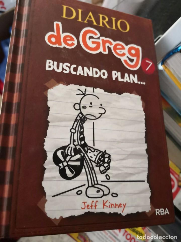 DIARIO DE GREG (DE JEFF KINNEY) Nº7: BUSCANDO PLAN (Libros Antiguos, Raros y Curiosos - Literatura Infantil y Juvenil - Otros)