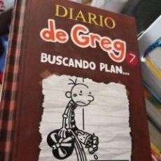 Libros antiguos: DIARIO DE GREG (DE JEFF KINNEY) Nº7: BUSCANDO PLAN. Lote 171141849
