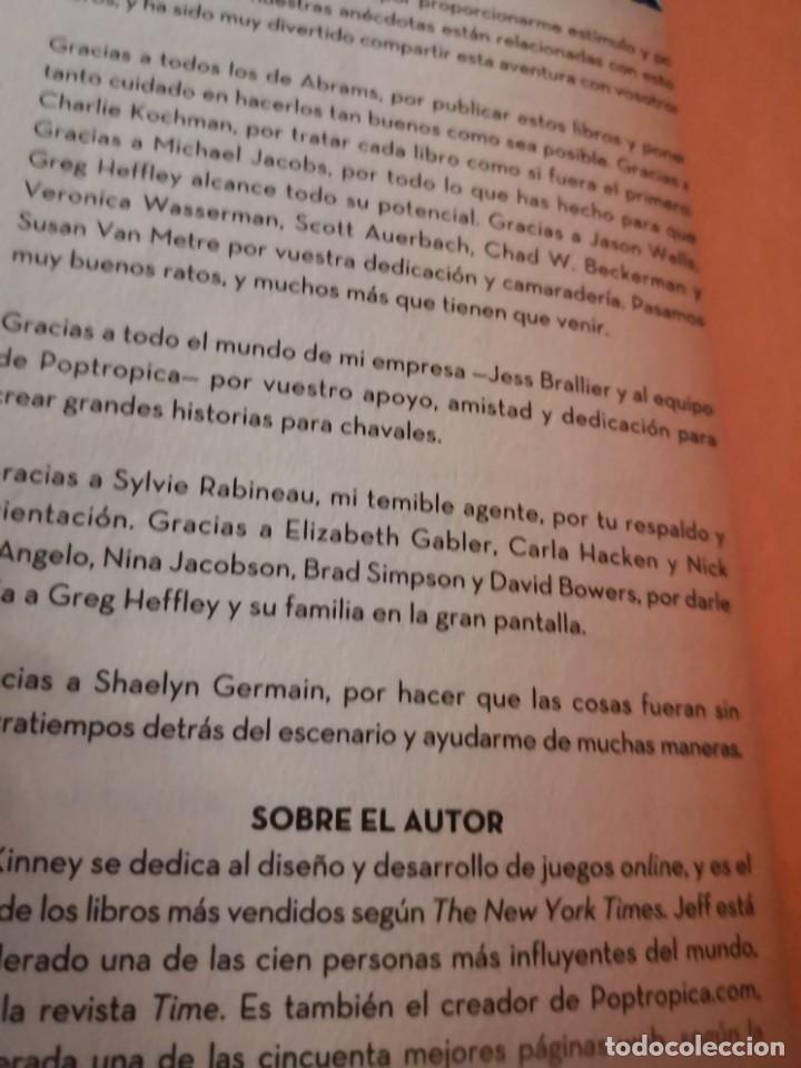 Libros antiguos: DIARIO DE GREG (DE JEFF KINNEY) nº7: buscando plan - Foto 5 - 171141849