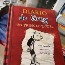 Libros antiguos: DIARIO DE GREG (DE JEFF KINNEY) UN PRINGAO TOTAL. Lote 156984310