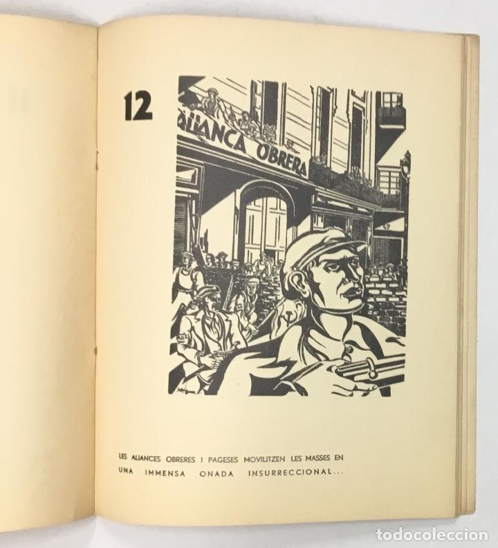 Libros antiguos: !!VISCA OCTUBRE!! Dibuixos sobre la Revolució Ibèrica. - GÓMEZ, Helios. - Foto 7 - 156984574