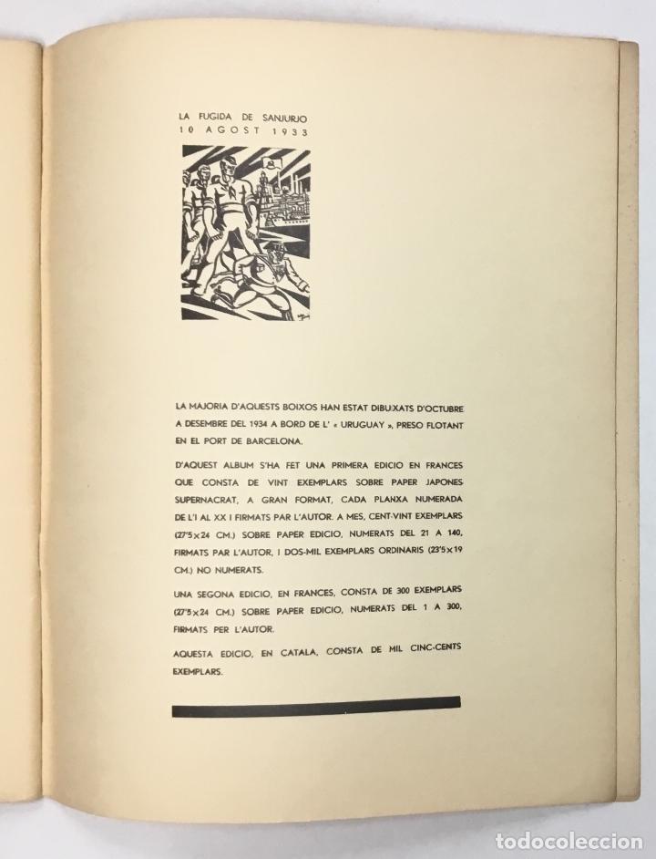 Libros antiguos: !!VISCA OCTUBRE!! Dibuixos sobre la Revolució Ibèrica. - GÓMEZ, Helios. - Foto 10 - 156984574