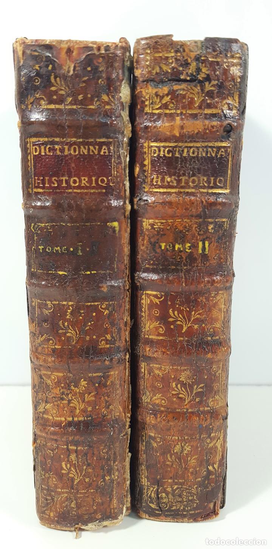DICTIONNAIRE. HISTORIQUE PORTATIF. L´HISTOIRE DE PATRIARCHES. 2 TOMOS. PARIS. 1752. (Libros Antiguos, Raros y Curiosos - Historia - Otros)