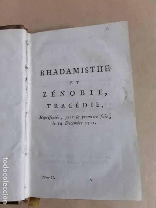 Libros antiguos: Libro de 1711,ouvres de crebillon,tomo second rhadamisthe et zenobie tragedie. - Foto 5 - 157089658