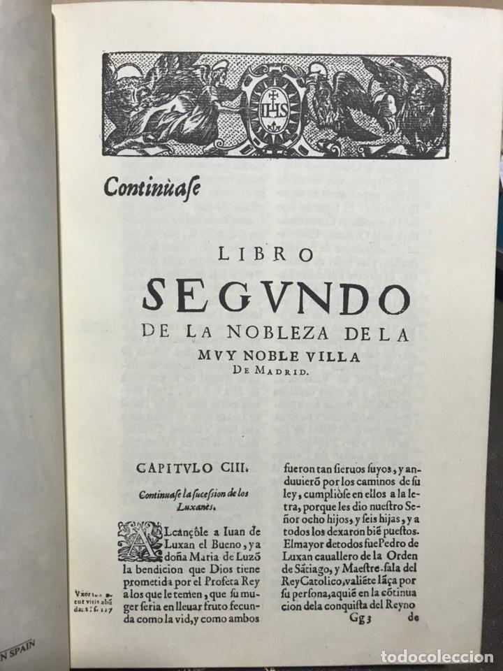 Libros antiguos: GRANDEZAS DE MADRID TOMO 2 - Foto 3 - 157212554