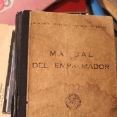 Libros antiguos: MANUAL DEL EMPALMADOR. COMPAÑÍA TELEFÓNICA NACIONAL DE ESPAÑA (MADRID, 1970). Lote 157265622