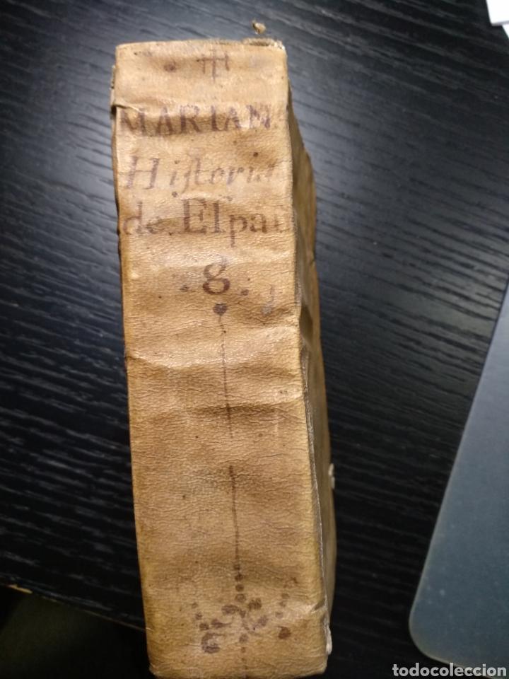 HISTORIA GENERAL DE ESPAÑA. PADRE JUAN DE MARIANA. TOMO 8. AÑO 1737 (Libros Antiguos, Raros y Curiosos - Historia - Otros)