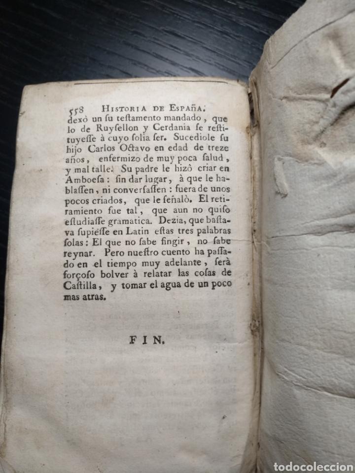 Libros antiguos: Historia general de España. Padre Juan de Mariana. Tomo 8. Año 1737 - Foto 4 - 157274650
