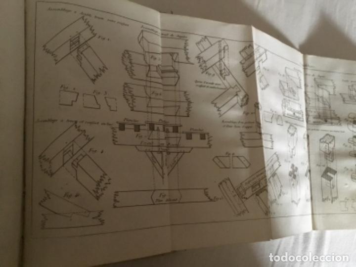 Libros antiguos: Carpintería.Manuel du charpentier, Paris 1834 Hanus - Foto 6 - 157328190