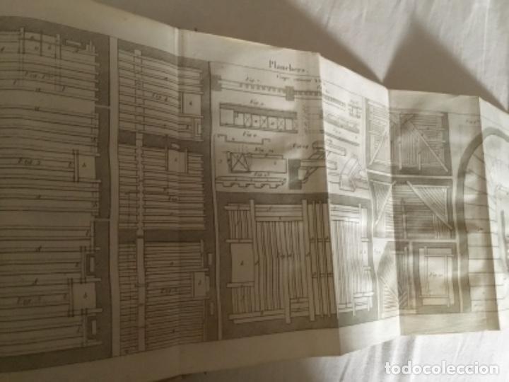 Libros antiguos: Carpintería.Manuel du charpentier, Paris 1834 Hanus - Foto 7 - 157328190