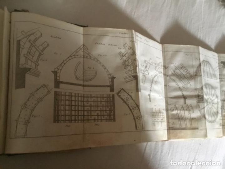 Libros antiguos: Carpintería.Manuel du charpentier, Paris 1834 Hanus - Foto 8 - 157328190