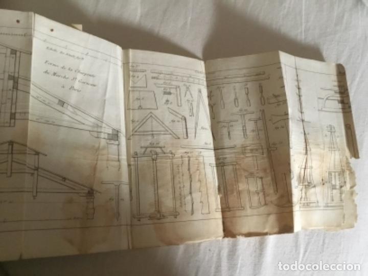 Libros antiguos: Carpintería.Manuel du charpentier, Paris 1834 Hanus - Foto 10 - 157328190