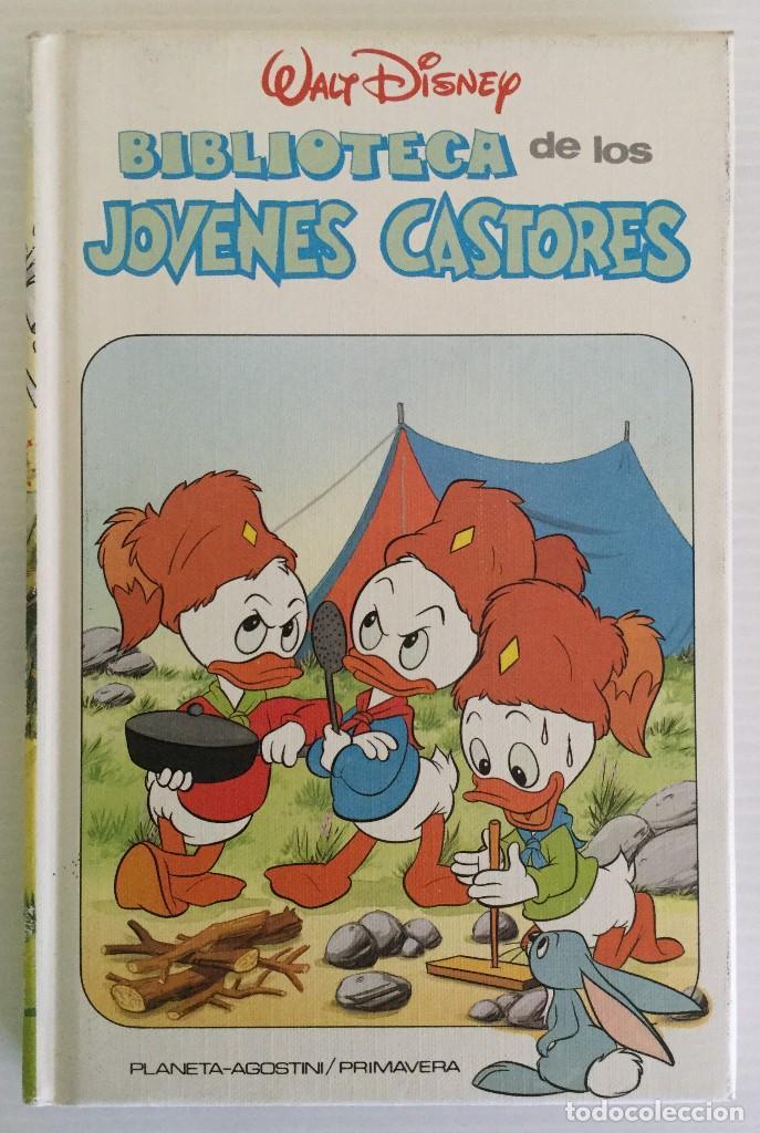 WALT DISNEY – BIBLIOTECA DE LOS JÓVENES CASTORES Nº 1 – PLANETA DE AGOSTINI – 1988 (Libros Antiguos, Raros y Curiosos - Literatura Infantil y Juvenil - Otros)